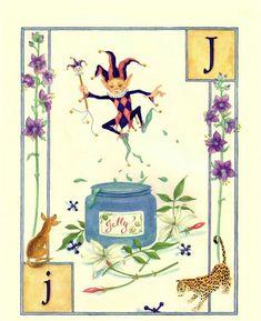 J...Jump...Jelly...Jaguar...  by Lauren Mills Elfabet