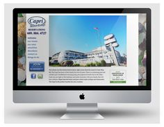 Website for Capri Motor Lodge, Cape May (www.caprimotorlodge.com) by www.cpwcreative.com