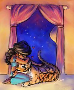 An Agrabah Evening by vilhelmina