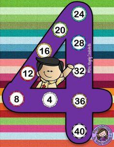 Number four ♥ Kindergarten Math Worksheets, Math Activities, Spongebob Painting, Math Blocks, Singapore Math, Homeschool Math, Math For Kids, Happy Kids, Math Lessons