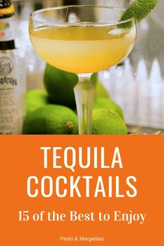 There are lots of ways to serve tequila from the classic drink with lime and salt. But I prefer tequila cocktails with different flavours and colours involved. These 15 are some of my favourites and ones to try that show tequila mixed drinks in all thei Tequila Mixed Drinks, Liquor Drinks, Tequila Tequila, Alcoholic Drinks, Drinks Alcohol, Beverages, Beste Cocktails, Fruity Cocktails, Cocktail Drinks