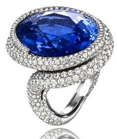Chopard, Sapphire ring