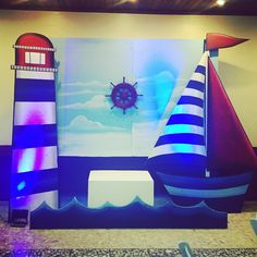 Área para fotos !! #nauticalparty #nauticobirthday #jardindelolabypartyzone  @clubnacord