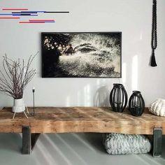 TV-Möbel Sideboard Lowboard aus alten Bahnschwellen – daslandhus.de - home/mobel