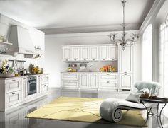 cucina bianco totale Kitchen Cabinets, Home Decor, Rome, Trendy Tree, Decoration Home, Room Decor, Cabinets, Home Interior Design, Dressers