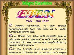 Leamos la BIBLIA: Milagros Eucaristicos 12-06-15