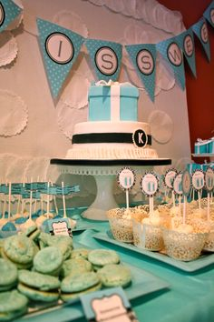 Tiffany & Co. Inspired Bridal Shower
