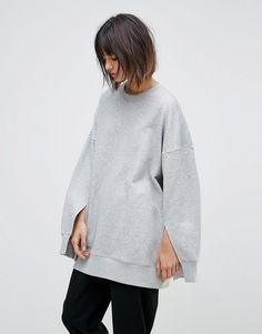 Weekday Split Cuff Sweatshirt