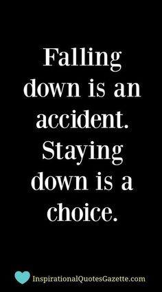 Always, Always, Always Get Up!