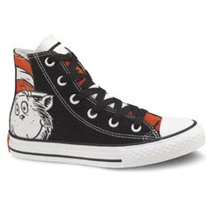 I bought these for kameron for Christmas, but never got to see him wear them. He took them to Kentucky with him and that was all she wrote. Dr Suess Chuck Taylors
