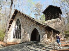 Callaway Chapel at Callaway Gradens A setting in Red Clay and Roses