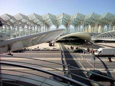 Santiago Calatrava - Oriente Station - Lisbon Portugal - 1993-1998