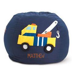 Truck Beanbag Chair in Kids 2012 from Lillian Vernon