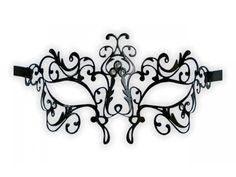 filigree masquerade masks template - Google Search