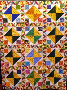 A festive quilt, to celebrate a life well lived.
