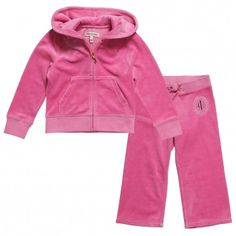 These are the most wanted Juicy Couture Girls Tiara Crest Tracksuits for the holiday 2012 season. After all it was Juicy Couture who made the velour tracksuit famous. They are so chic and stylish in favorite seasonal colors. We love the hot pink, soft pink and cool grey color options available. There will be limited supplies close to approaching the holiday season so please make sure to buy your favorite choices fast today.