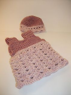 Crocheted Doll Clothes #crochet, #doll, #doll clothes