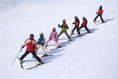 Beginner ski holidays.