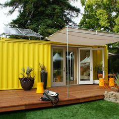 Looking for how to renovate shipping container into house, Shop, Garage or Workshop? Here are extensive shipping Container Houses Ideas for you! shipping container homes Shipping Container Conversions, Shipping Container Home Designs, Container House Design, Shipping Containers, Container Van, Shop Interior Design, Exterior Design, Cafe Exterior, Diy Exterior