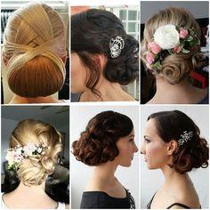 my wedding hairstyles Wedding Hairstyles, Bride, Hair Styles, Makeup, Earrings, Fashion, Wedding Bride, Hair Plait Styles, Make Up