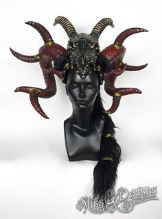 Demon Horns Headdres