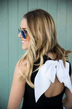 We are loving @Julia Engel in our Belle Open Bow Back Top!! http://www.aliceandolivia.com/belle-open-bow-back-top.html