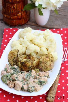 Indyk w szpiankowym sosie (błyskawiczny obiad) | Zdrowe Przepisy Pauliny Styś