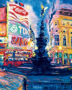 Piccadilly Circus, London    by Roy Avis