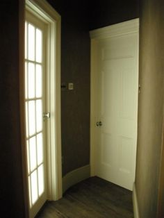 Edwardian painted internal doors