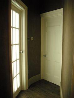 Edwardian painted internal doors