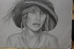 Stevie Nicks portrait done by my friend Todd Groff.