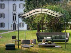 Outdoor furniture: Italian brand Unopiù, Lawrence sofa