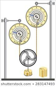 Stockfoto- och bildsamling från Fouad A. Mechanical Power, Pulley, Royalty Free Images, Metal Working, Stock Photos, Illustration, Elevator, Portfolio, Ropes