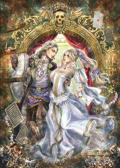 Final Fantasy VI - Setzer and Celes