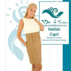 El Vestido Capri Búscalo en Nuestra Colección Primavera-Verano http://www.mardeformas.com/ca/25-vestido-capri.html
