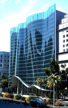 Commercial building entrance canopies design of novelis for Boutique design hotel dubai
