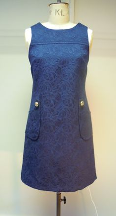 THE dress for Spring...The A Line Shift!! Hand-made with a contrast floral cotton lining .... At The White Room Now  xx
