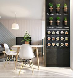 Kleine Wohnung modern und funktionell einrichten Small apartment modern and functional room apartment creative design with accent wall black and vertical . Deco Studio, Studio Apt, Sweet Home, Appartement Design, Diy Casa, Cozy Apartment, Apartment Interior, Apartment Plants, Penthouse Apartment