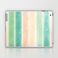 Feather Pattern Laptop & iPad Skin by VessDSign - $25.00