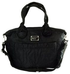 82b70f2607 Marc by Marc Jacobs Diaper Nylon black Travel Bag Marc Jacobs, Travel Bags,  Baby