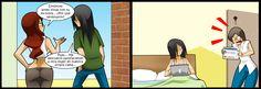 [MegaPost]Living with hipster and gamer si te gusta - Taringa! Comics Story, Fun Comics, Jagodibuja Comics, Ex Friends, Comic Manga, Hipster Girls, Short Comics, Games For Girls, Adult Humor