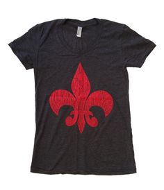 Women's Fleur-de-Louisville (Heather Black)