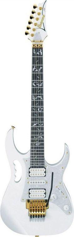 Ibanez JEM7V WH Steve Vai Signature Electric Guitar   White Finish