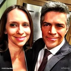 @Esai_Morales: @TheReal_Jlh  So great seeing you again after all these years. #CriminalMinds #selfie #CBS