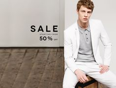 Good Sale going on over at ZARA, stock up now. SALE - Summer Men | ZARA United States