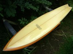 """Just got your new post on """"the Original Sting"""".next to Bonzers & vintage guns, I love the Stinger shapes! I've been putt. Surfboards For Sale, Best Surfboards, Vintage Surfboards, Surfboard Fins, Big Waves, Water Sports, Skate, Surfing, Surf Board"""