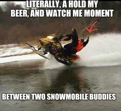 hell yeah Stupid Funny, The Funny, Hilarious, Funny Stuff, Car Memes, Funny Memes, Snow Toys, Snow Vehicles, Redneck Humor