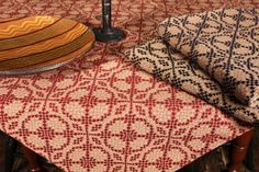 FW-TS-LD - NEW!<br> Liza Duel Table Square Square Tables, Home And Living, Colonial, Primitive, Blanket, Decor, Decoration, Couture Facile, Blankets