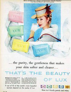 vivatvintage:  Mitzi Gaynor advertising Lux, 1959