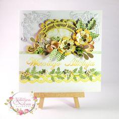 184. Easter Flourish card